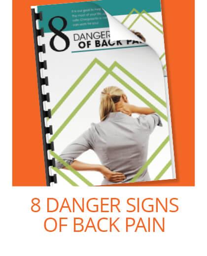 8 danger signs of back pain.