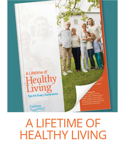 A lifetime of healthy living.
