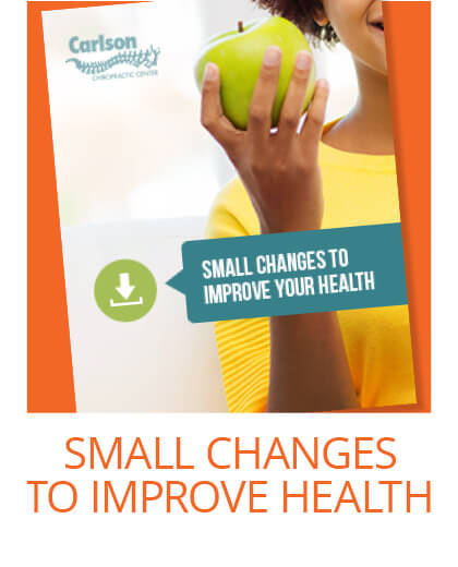 Small changes to improve your health.
