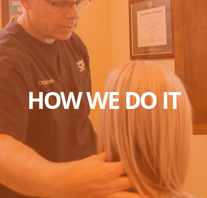 How does Carlson Chiropractic Center do it